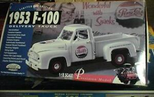 DieCast Vehicles, Pepsi Truck, 1955 Chev plus others