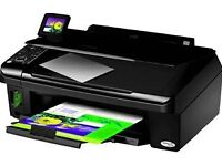 Epson (almost new) printer and hp printers