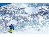 2016/17 Saas Fee Ski Season Pass x 2