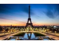 Selling my holiday to paris