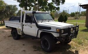 1986 Toyota LandCruiser Ute with 1HZ Motor Lissner Charters Towers Area Preview