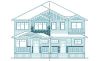 We design house plans and garages for you