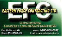 Eastern Force Contracting Ltd.