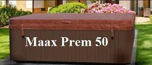 couvert de spa MAAX Premium 50 - 83 x 83 - Livraison gratuite - 6 Pouces D'épaisseur