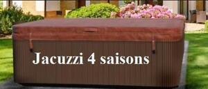 Couvert de spa jacuzzi - 4 saisons - 6 pouces dépaisseur - 319.99$ !