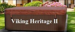 Couvert de spa Viking Heritage II - LIvraison Gratuite - couvercle isoler pour le Quebec
