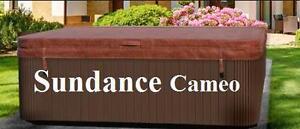 Couvert de spa Sundance Cameo - 4 saisons - Livraison Gratuite - Couvercle Haute Durabilité