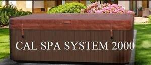 Cal Spa System 2000 couvert de spa - Meilleur rapport Qualité prix Garantie !