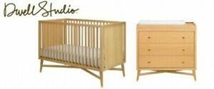 DwellStudio Mid-Century 3-in-1 Convertible Crib & Dresser