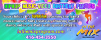 Dance Music-Video Birthday Party