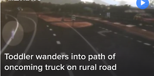 Truck Driver narrowly Misses wandering Toddler in Queensland Sunshine North Brimbank Area Preview