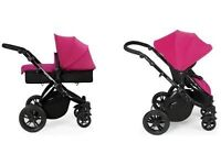 New Ickle Bubba Stomp V2 two in one pushchair/carrycot.