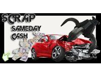 scrap cars wanted cash waiting