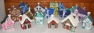 Christmas houses village ~ Village de Noel