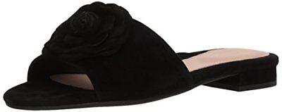 Taryn Rose Womens Violet Silky Suede Slide Sandal- Select (Silky Suede Womens Sandals)