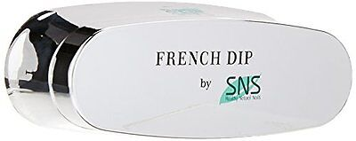 SNS Nails Dipping Powder French Dip Moulding Mold for (White Dip)