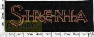 SIRENIA - embroidery patch ,aufnäher , naszywka - <span itemprop=availableAtOrFrom>Bydgoszcz, Polska</span> - only for buyers from Poland /// zwroty uwzgledniane tylko dla kupujacych z Polski /tylko w przypadku stwierdzenia wady fabrycznej przedmiotu. Przyjmuję zwroty w ramach odstąpienia od umowy za - Bydgoszcz, Polska