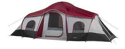 XL 3-Room 10-Person Camping Tent 20'x10' Cabin  Ozark (10 Person 3 Room Xl Camping Tent)