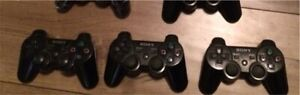 PS3 controllers wireless three