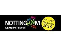 Nottingham Comedy Festival Launch Show
