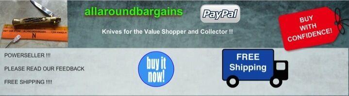 allaroundbargains  $$value knives$$