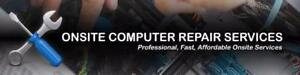 On-site computer repair, water and liquid damages and more.