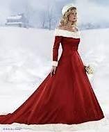 Brand new xmas wedding dress