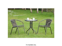 Garden set (table + 4 chairs)