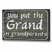 Grandparents Plaque