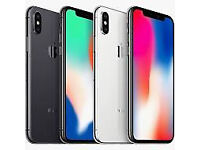 iphone x, 64 gb, space gray, on EE. sealed box.