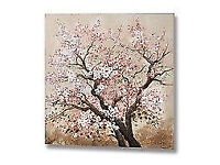 Pink Blossom Oil Painting Canvas New in Original Packaging RRP £129
