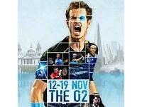 ATP Tennis Finals Tickets (Indoor Wimbledon) - VIP SEATS - o2 Arena, London - 12th November