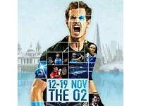 ATP Tennis Finals Tickets (Indoor Wimbledon) - VIP SEATS - o2 Arena, London - 12th November