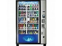 Protein Shake, Bars, Water all dispensed via a Vending Machine