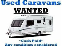 wanted caravans