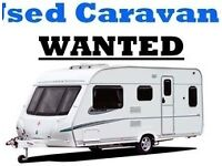 Touring Caravan wanted 2 4 6 berth bailey swift sterling elddis single twin axle