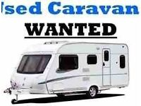 CARAVAN WANTED CASH PAID QUICK COLLECTION