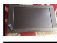 "37"" tv freeview built in with remote and wall bracket"