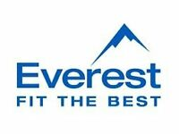 Become a Canvasser for Everest. No experience required as full training available.