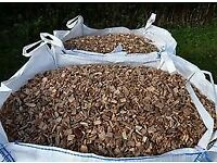 Wood chip for sale.