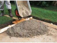 Cement and set concreting!!