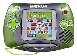 Leapfrog Leapster Hand Held Learning Game System