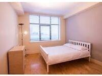 Large single bedroom in Crossharbour with livingroom