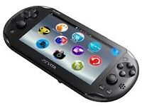 Sony Slim Playstation Vita Console and Accessories!!!