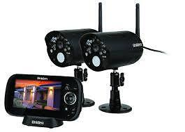 UNIDEN-G1420-Guardian-Wireless-Surveillance-Security-System-2-Cameras-Shops-Home