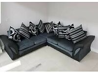 Shannon corner and 3/2 seater sofa available with fast delivery Book it now ?