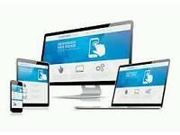 Website and custom Facebook account £60!