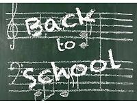 Guitar Lessons: Back To School Sale!