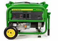 John Deere 6000 Watt Portable Gasoline Generator BLOWOUT
