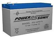 12 Volt Alarm Battery